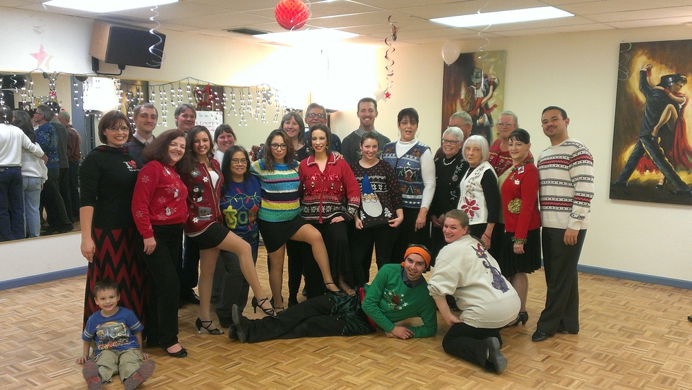 Ugly Holiday Sweater Dance Party