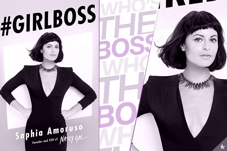 Book cover: #GIRLBOSS.