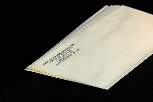 #10 Regular Baronial Ivory Envelopes
