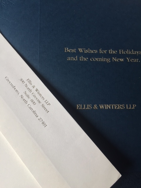 Ellis & Winters Holiday Cards