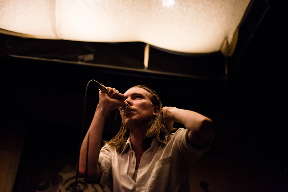 Alex Cameron Is The Man With The Golden Microphone   Covered for DMNDR