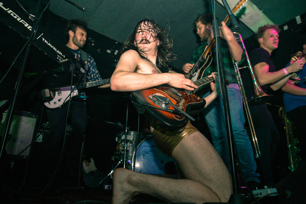 A Nightmarish Rat Head & A Golden Speedo: Evolfo Live at Alphaville   Covered for Play Too Much
