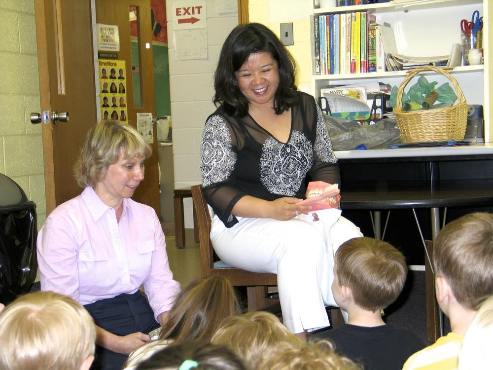 volunteer work -Children education & oral health