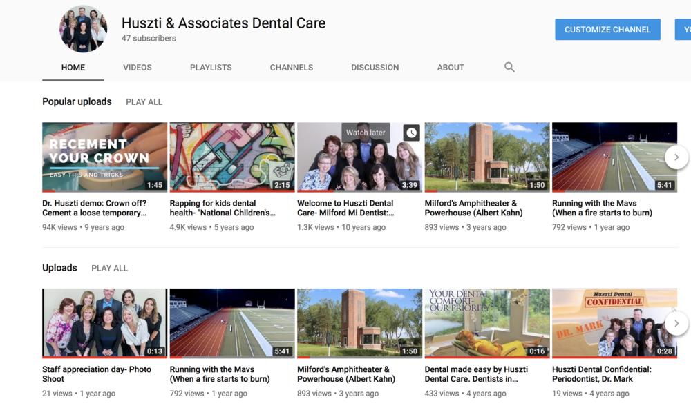 YouTube Huszti Dental