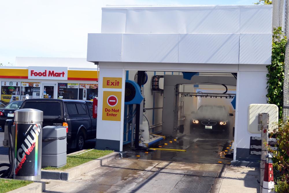 Exit  Car Wash