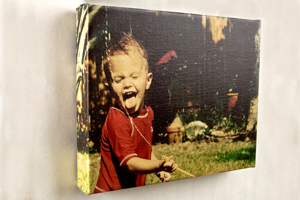 GALLERY WRAP Instantly turns your favorite photo into a work of art. Premium canvas hand-wrapped around a 2 1/2 inch wood frame, ready to hang the moment it arrives. Includes USB with full edit of images. Standard - 20x30 - $825 Large - 30x40 - $985