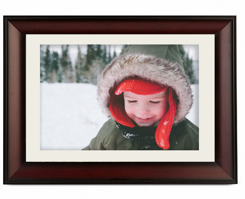 "FRAMED PRINT  Beautifully hand-constructed frames worthy of your favorite photo. Photos are mounted to foam board, matted in a 2"" frame in black, cherry, bronze or iron frame. Includes USB with full edit of images. 11x14 - $525,  16x20 - $645"
