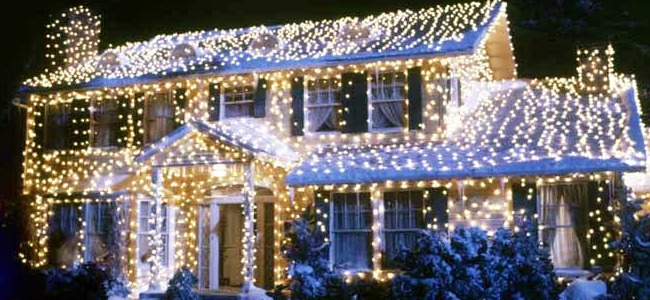 Christmas Vacation House Lights.Advent House Throughout Christmas Vacation Advent Calendar
