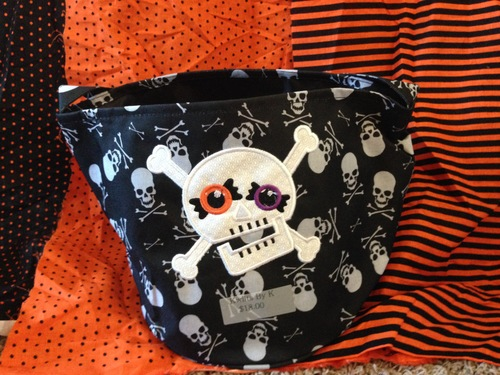 8dc7626b65 Kwilts By K— Decorated Halloween Trick or Treat BagsEmbroidery ...