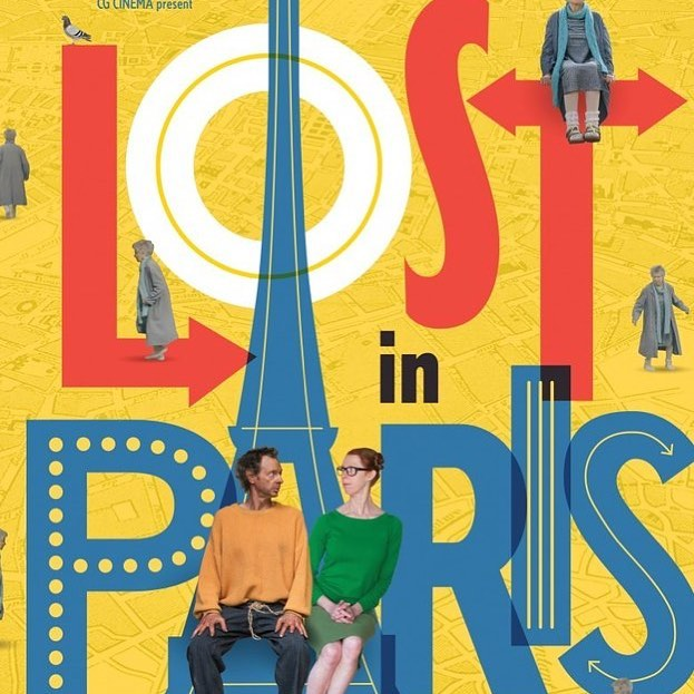 """LOST IN PARIS is a whimsical, slapstick ode to Jacques Tati & Charlie Chaplin, and the most charming film of the year."" Opens FRIDAY!  #localbusiness #supportlocal #independent #pensacolabeach #lostinparis"