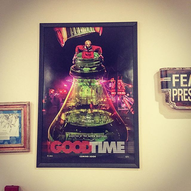 @a24 putting everyone else to shame with these amazing one sheets for @goodtimemov. We're impressed.  #arthouse #indepent #cinemacomeback #movies #timmcgrawfaithhill