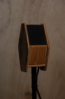 Joel's custom DaviSound 1950 microphone