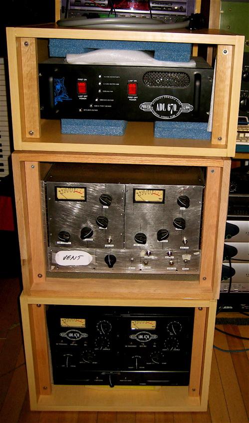 ADL670's at studio G.