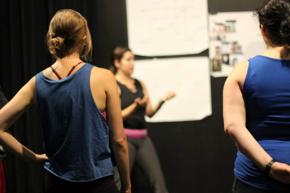 Movement workshop in August 2014