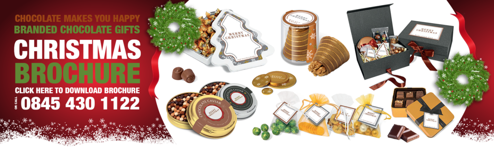 Copy of Branded Christmas Chocolate products