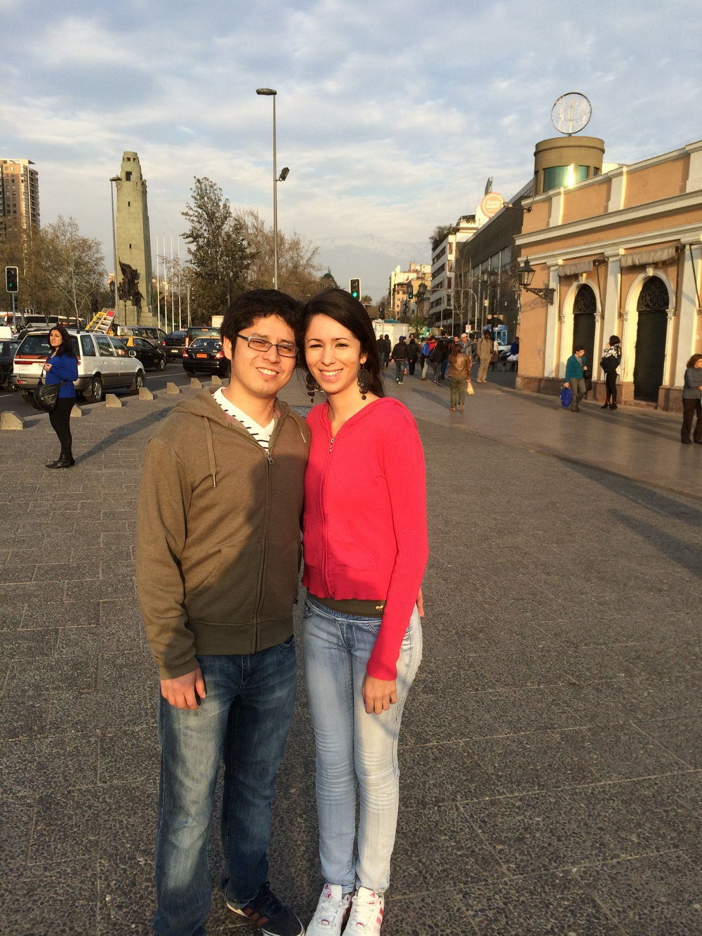 Francisco Campos and Tammy Teixeira / Santiago, Chile