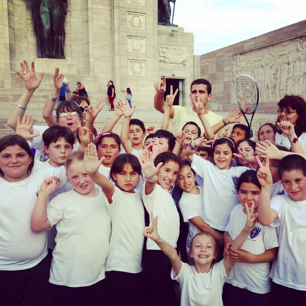 Peace love and squash in Rosario