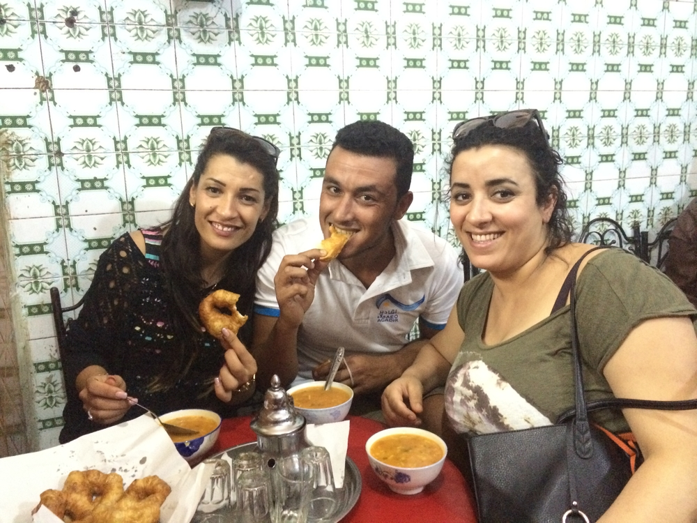 Najeh, Yassine, and Halima / Casablanca & Agadir, Morocco