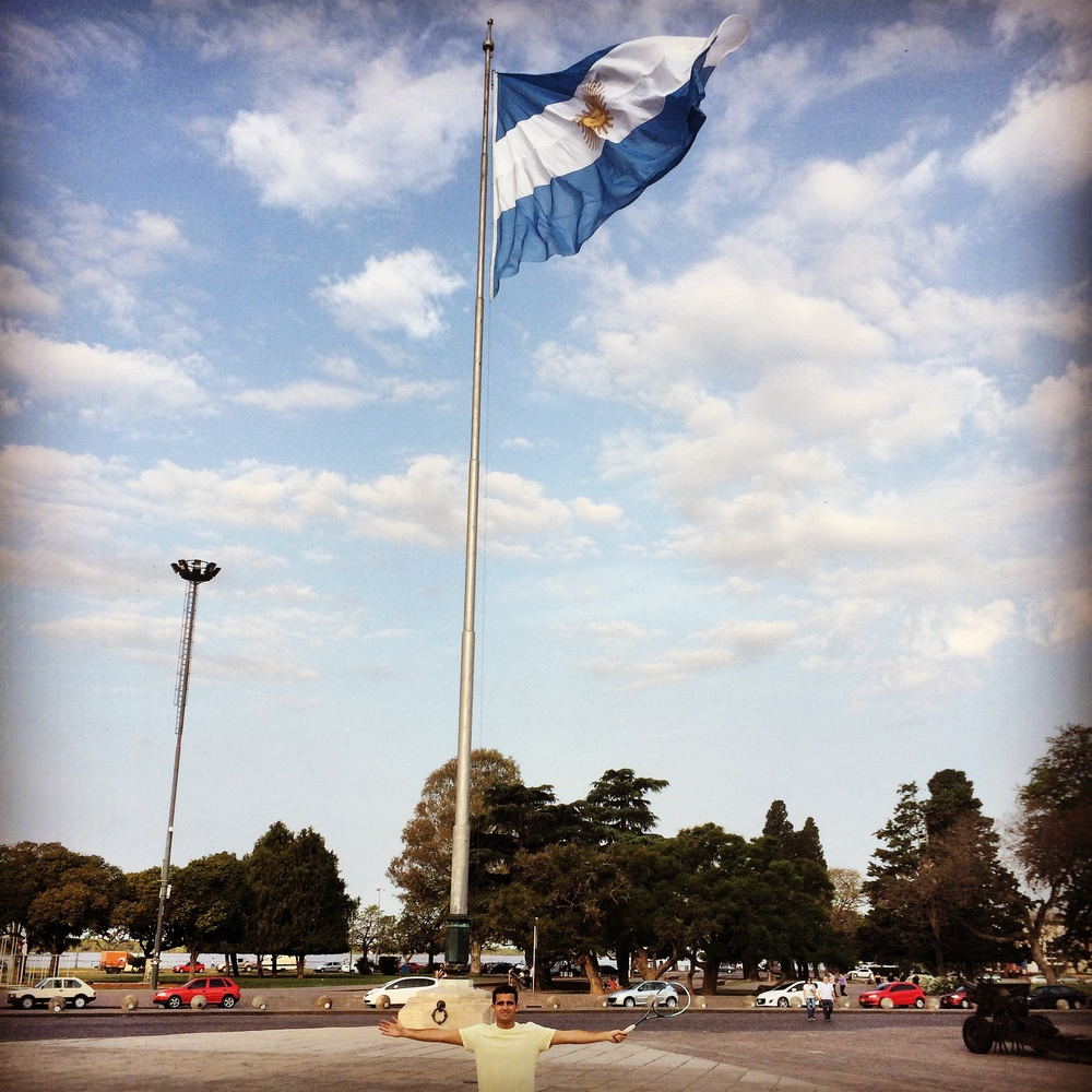 Rosario, Argentina, land of nice people and the world's best meat