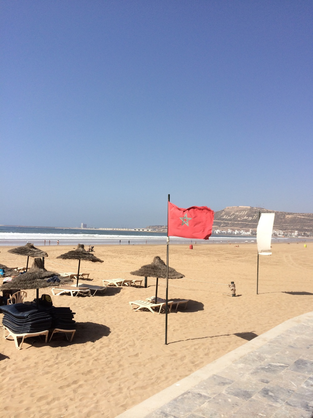 Beaches of Agadir, Morocco