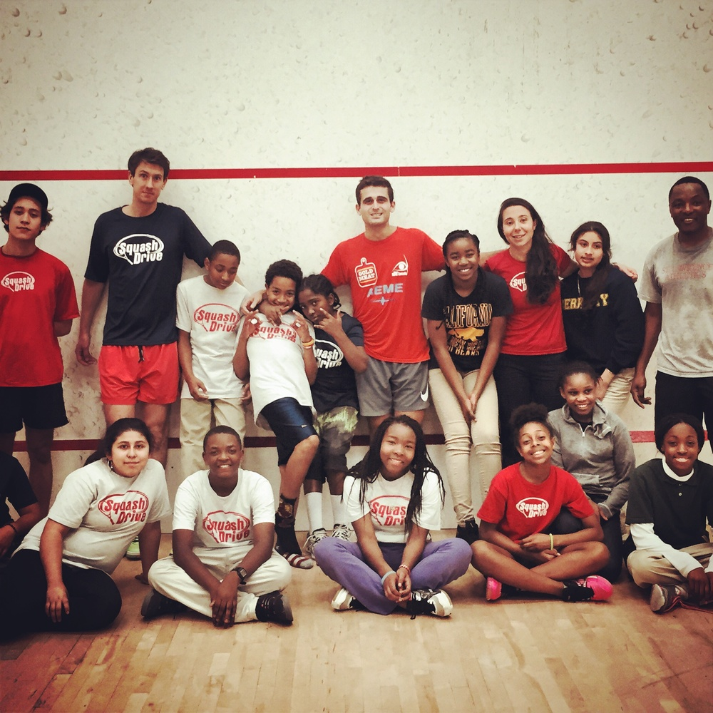 Hanging with the stars of Squash Drive, San Francisco's urban youth enrichment program doing big things: www.squashdrive.org