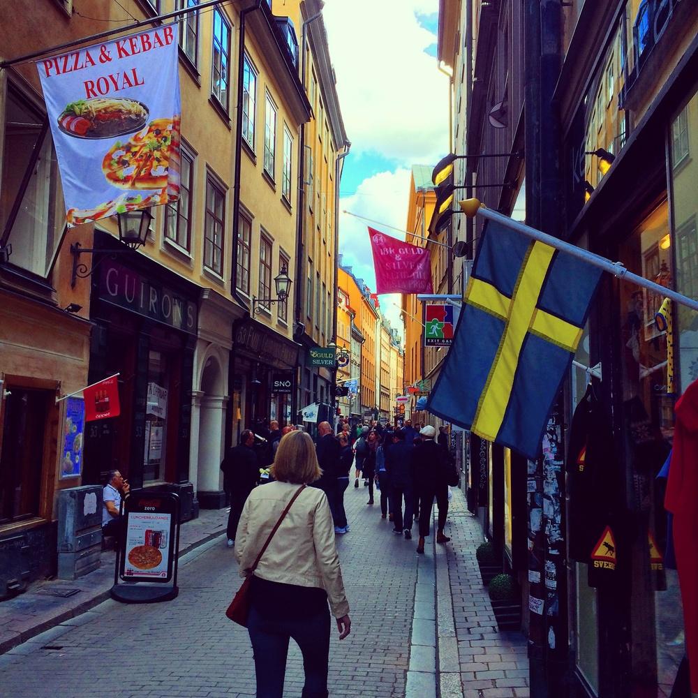 Old town, Stockholm