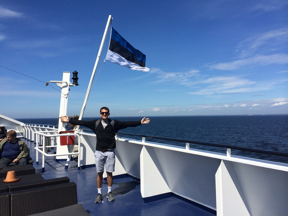 Crossing the Gulf of Finland, on to Estonia