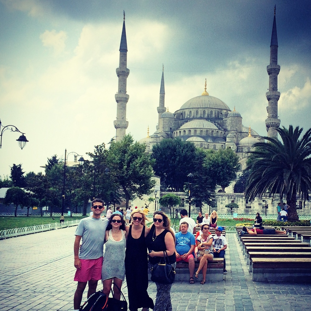 "Crashing ""Girls Weekend"" in Istanbul, on the way to Rhodes, August 2015"