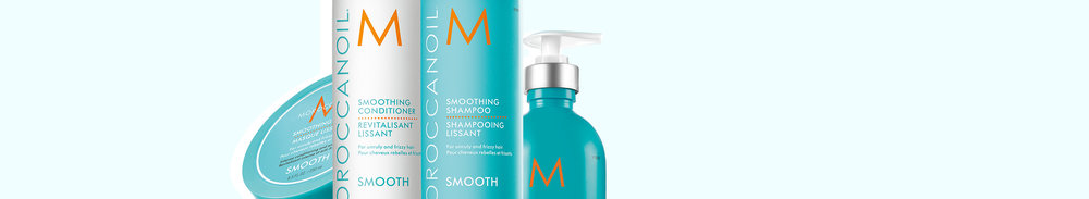 Smooth collection - Tame unruly, frizzy hair with our smoothing products. Enjoy more manageable styling for hair that is soft, smooth and nourished.