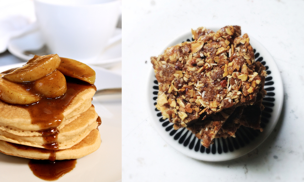 pancakes and granola bar diptych.jpg