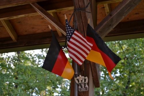 2011 Oktoberfest Opening Flags.JPG