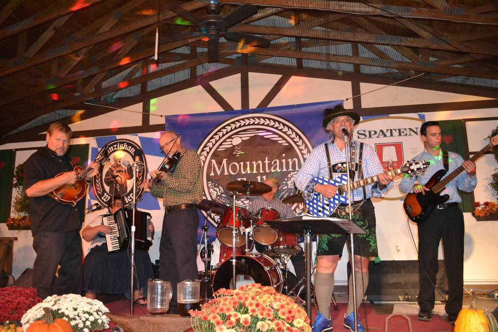 Dave kline & the Mountain folk fest band
