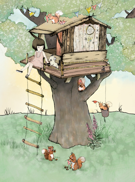 Tree House detail