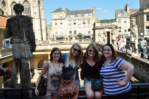 Normal   0           false   false   false     EN-US   X-NONE   X-NONE                                                                                                                                                                                                                                                                                                                                                                         Breanne and friends at the Roman Baths in Bath, England