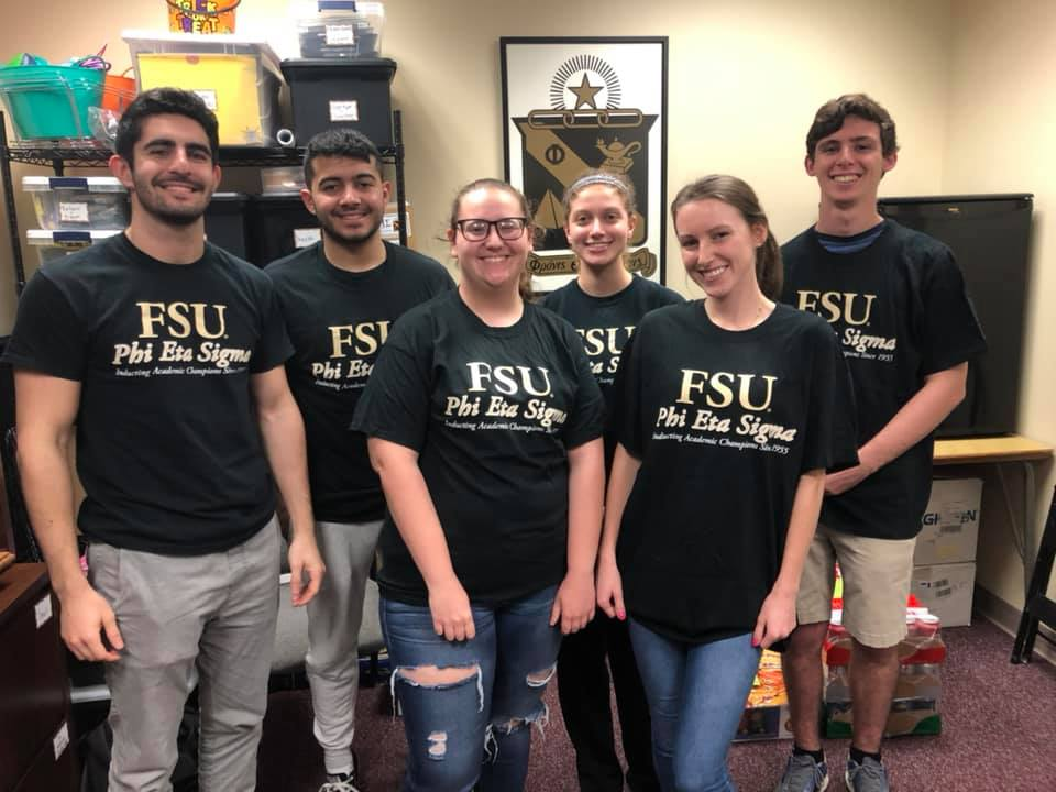 T-Shirt Day - Members wore their PES shirts around campus to show their spirit for the organization.