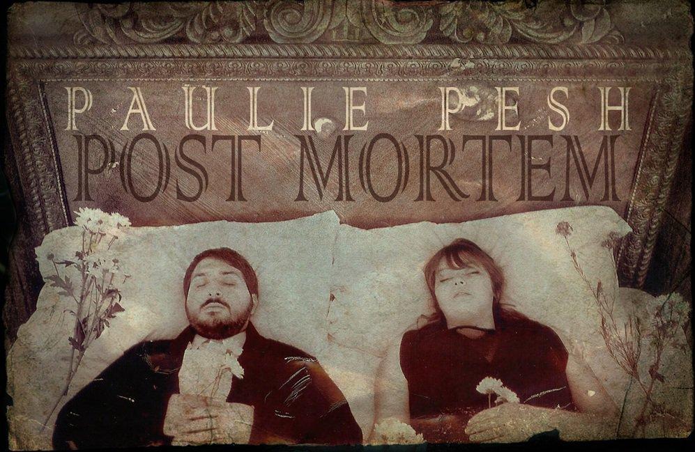 Paulie Pesh - POST MORTEM E.P. Cover