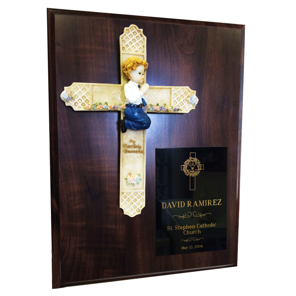 "First Communion Plaque (9"" x 12"")"