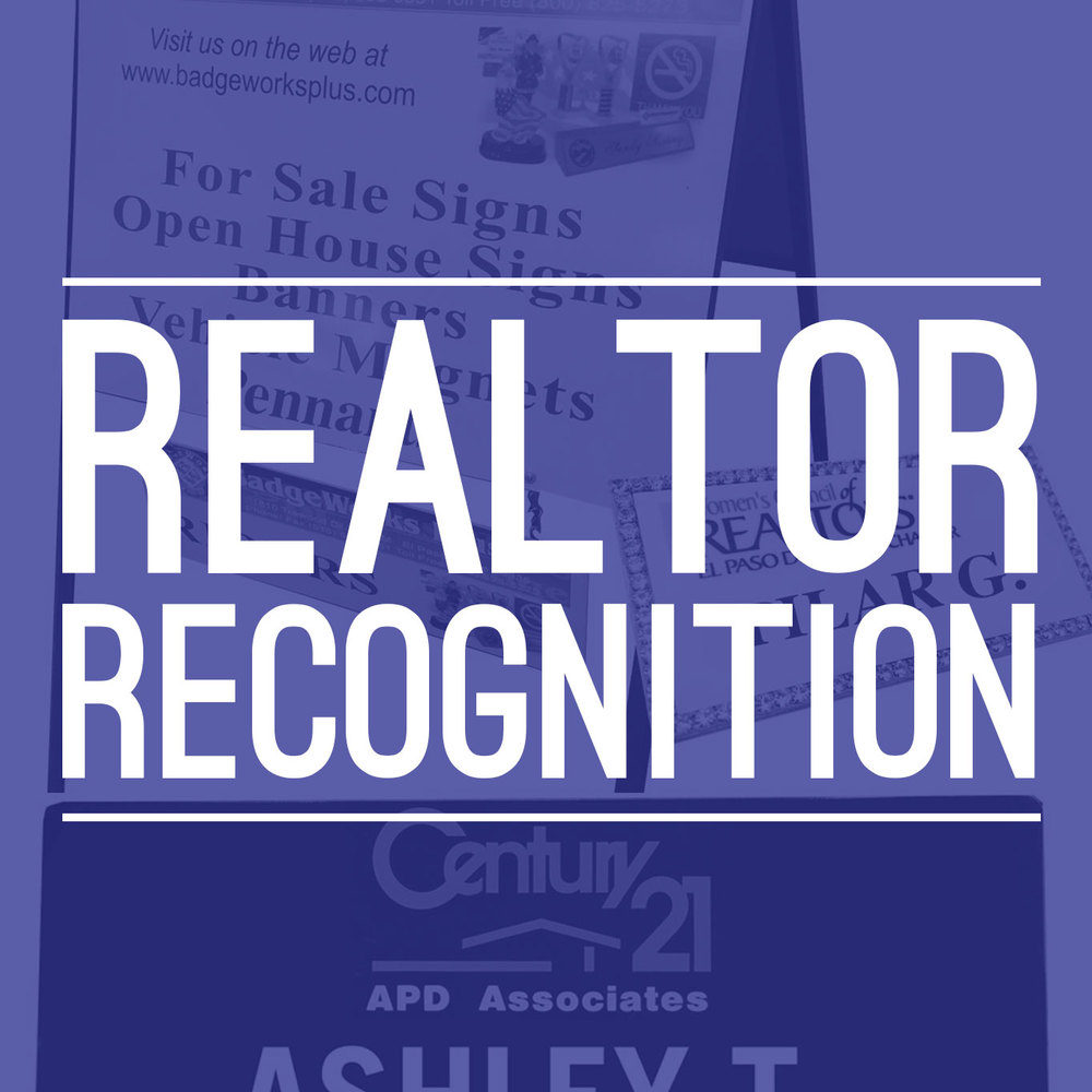 Realtor Recognition
