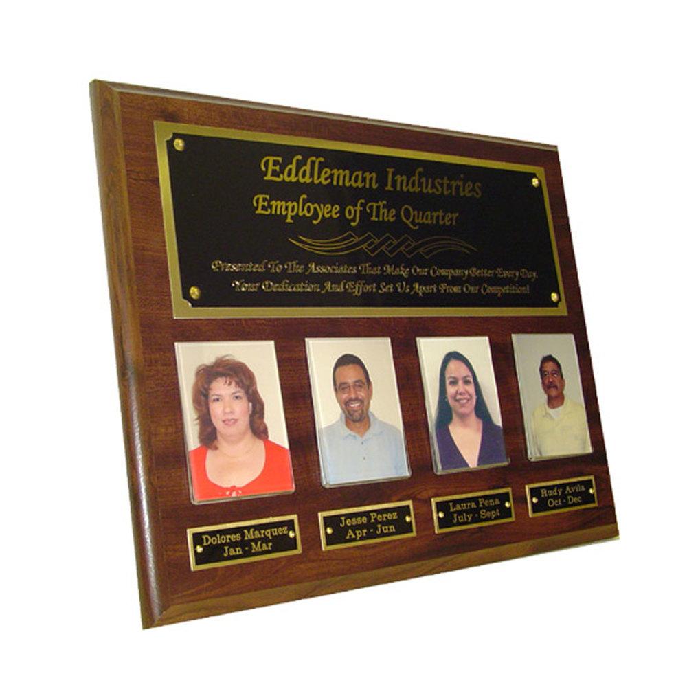 "Employee of the Quarter Plaque (10.5"" x 13"")"