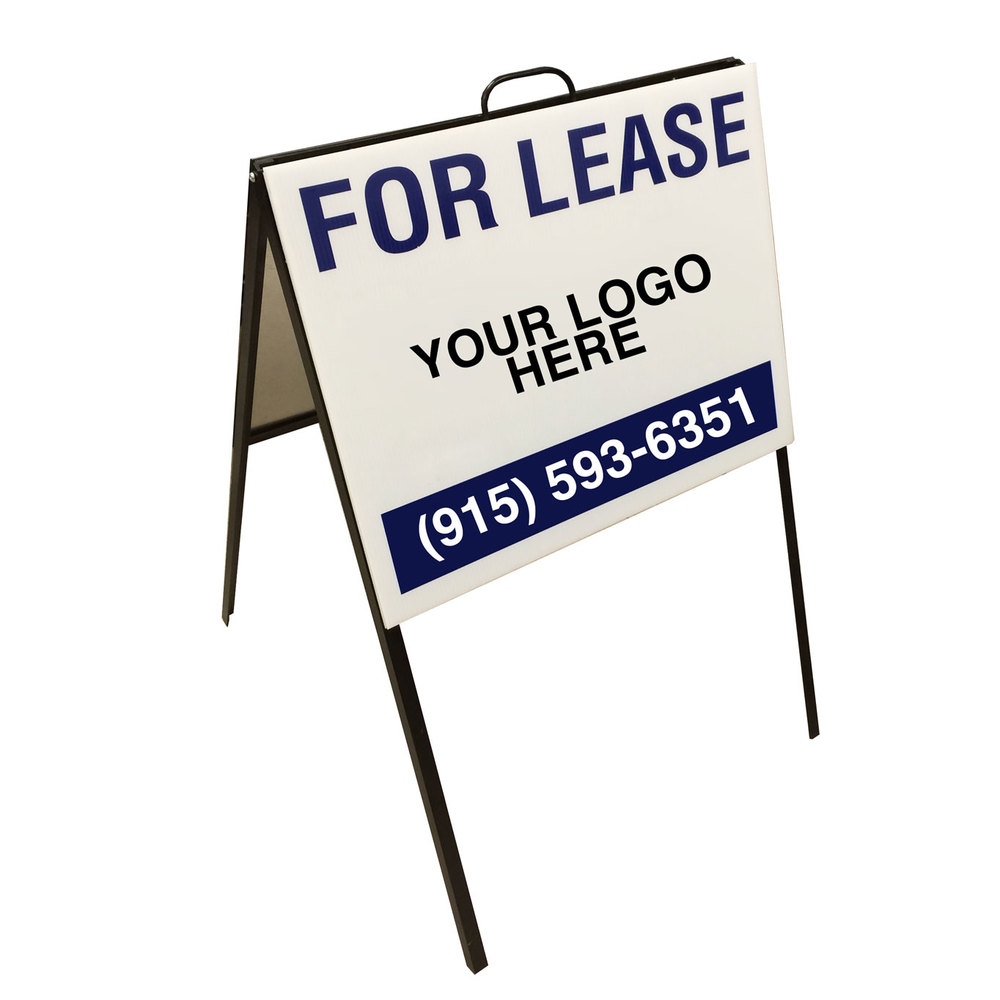 A-Frame Realtor Sign