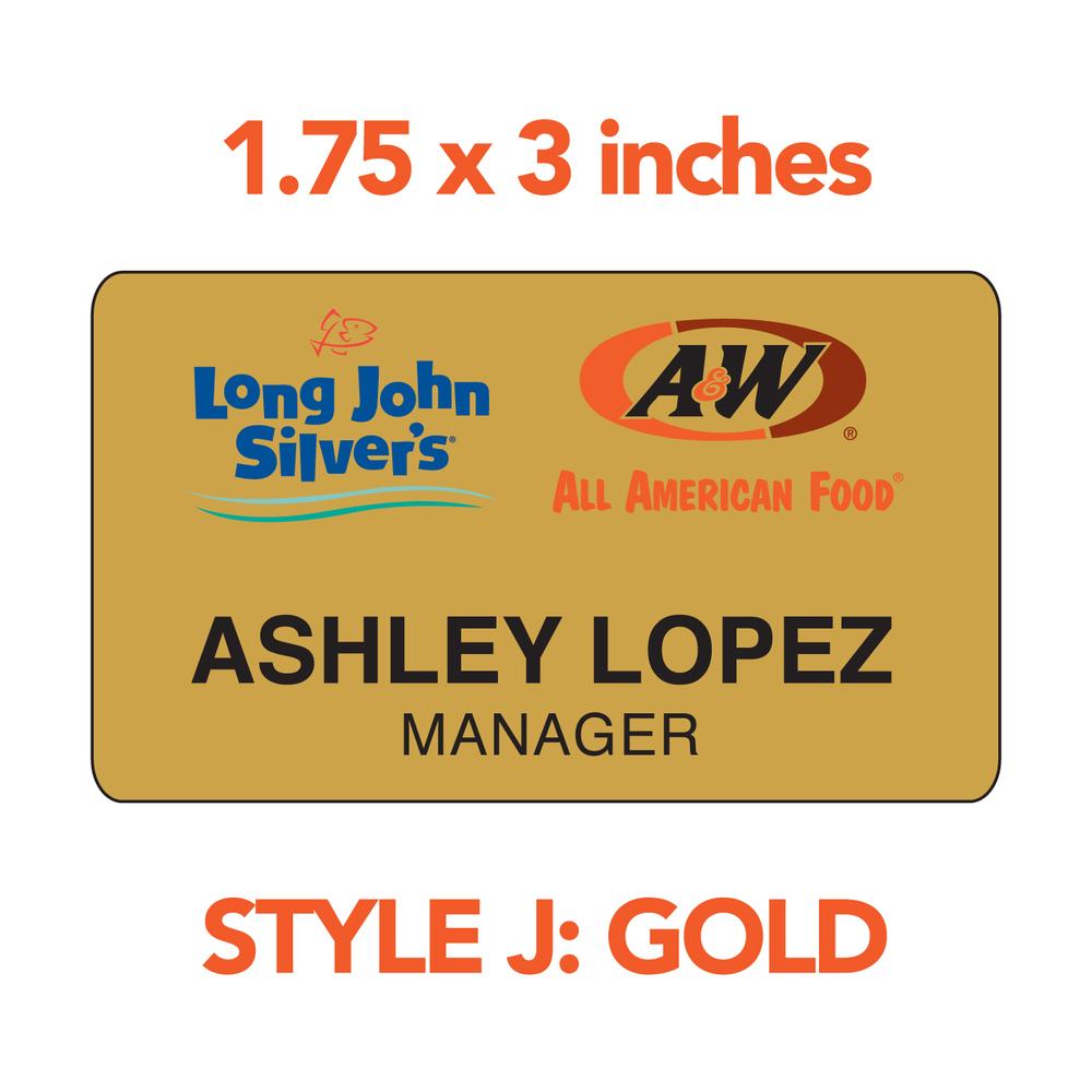 LJS/A&W STYLE J: GOLD (STANDARD)