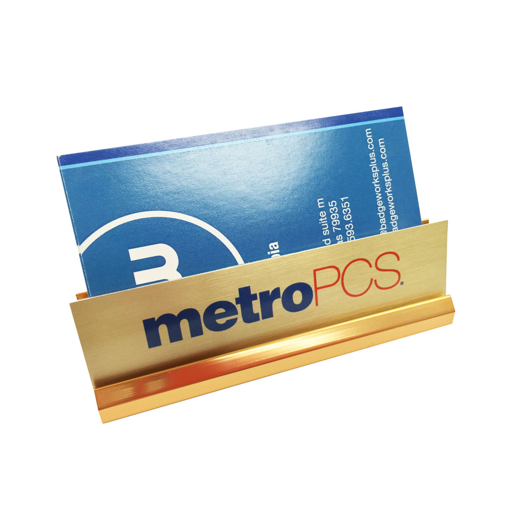 Metropcs gold business card holder badgeworks plus metropcs gold business card holder colourmoves