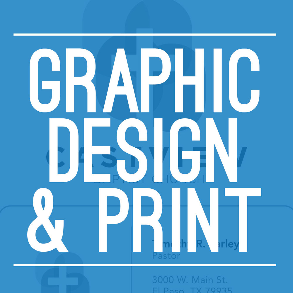 Graphic Design and Print