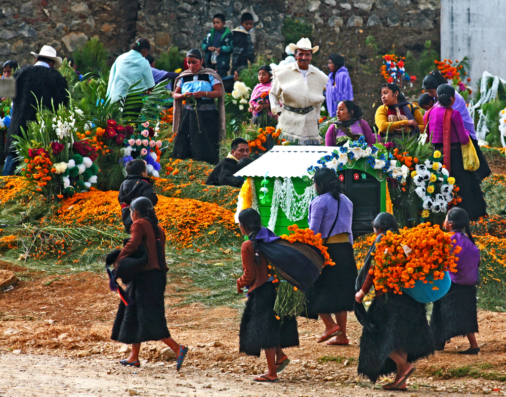 Flowers Arriving, Chiapas