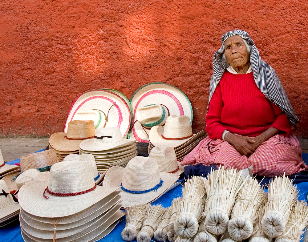 Brooms and Hats, Michoacan