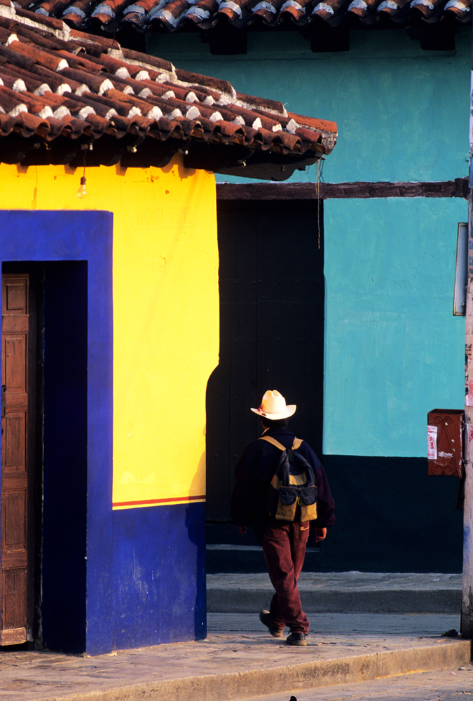 Colored Walls, Chiapas