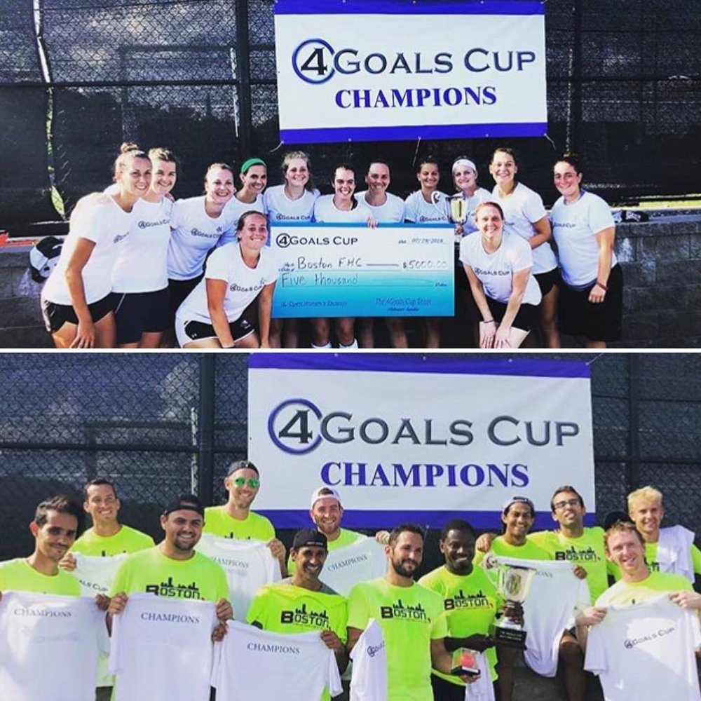 NEPL ATHLETES AT 4GOALS CUP TAKE HOME THE PRIZE -