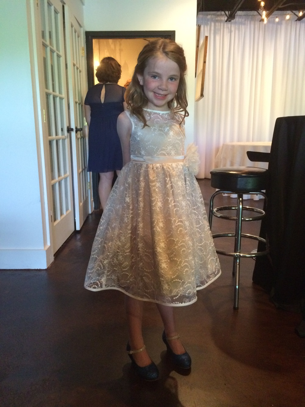 Jessica's precious niece and flower girl, Story