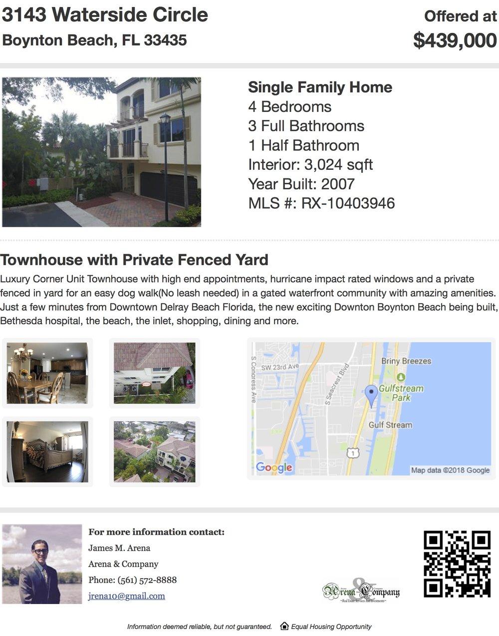 Printable Flyer of 3143 Waterside Circle, Boynton Beach, FL 33435, USA.jpg