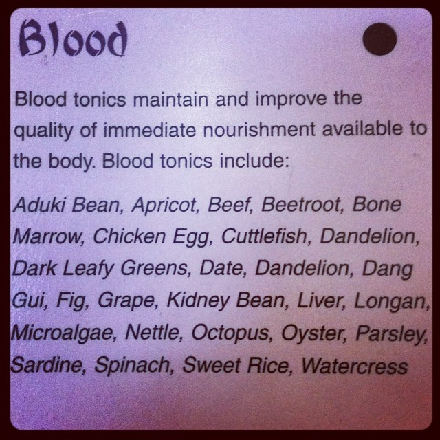 Don't eat meat? Then eat these because you're probably blood deficient! #vegan #vegetarian #chinesemedicine #bloodtonic #restorativeharmonyacupuncture (at Restorative Harmony Acupuncture, Philadelphia, PA)